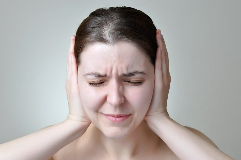 personality changes and hearing loss